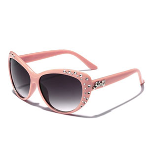 Giselle Rhinestone Cat Eye Sunglasses