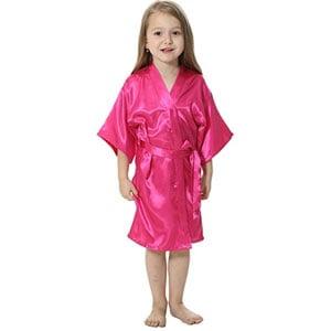 Joytton Satin Kimono Robe