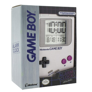 Paladone Game Boy Alarm Clock