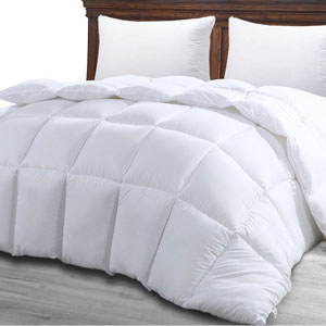 Utopia Twin White Comforter