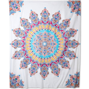 Boho Boutique Gypsy Rose Tapestry