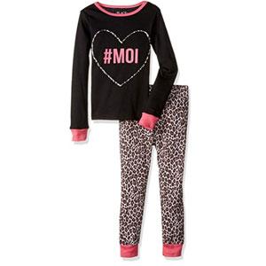 The Childrens Place Girls 2-Piece Cotton Pajamas