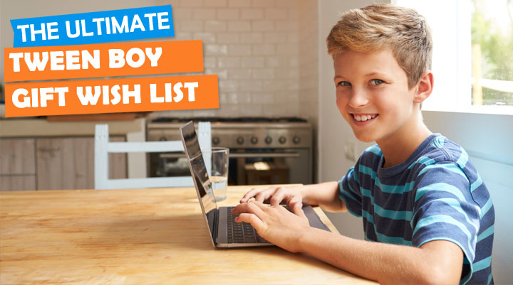 gifts for tween boys wish list