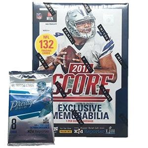 2017 NFL Score Football Cards