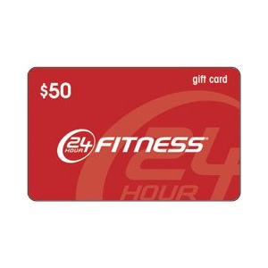 24 Hour Fitness Gift Card