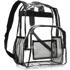 AmazonBasics Clear Backpack
