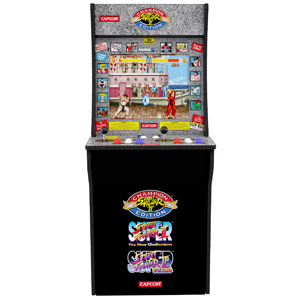 Arcade1Up Street Fighter II Arcade Cabinet