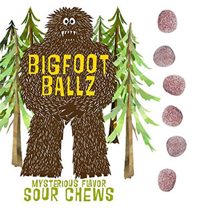 Bigfoot Ballz Sour Candy