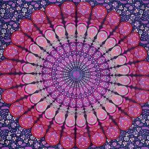 Bless Bohemian Mandala Tapestry