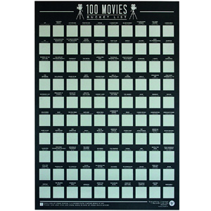 Bucket List Poster 100 Movies