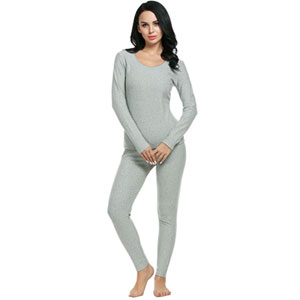 Ekouaer Thermal Fleece Underwear