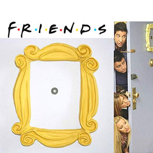 FRIENDS TV Yellow Peephole