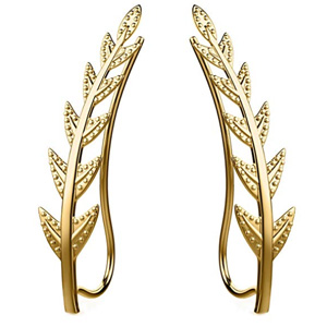 Feramox Ear Crawler Cuff Earrings