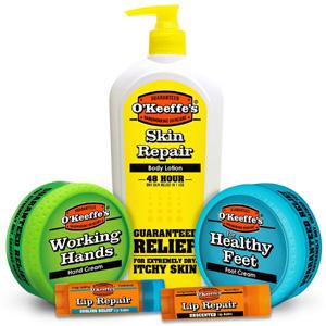 OKeeffes Skin Repair Variety Pack