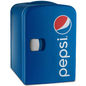 Pepsi Gourmia GMF660 Mini Fridge Cooler and Warmer