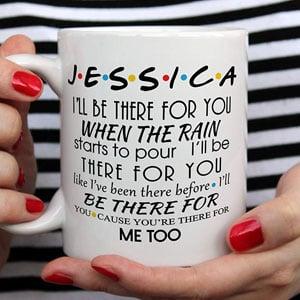 Personalised Friends Mug Funny Mug