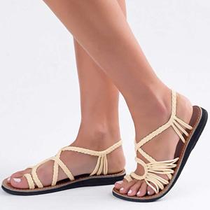 Plaka Flat Summer Sandals