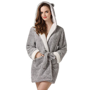 Richie House Bathrobe Robe with Ears