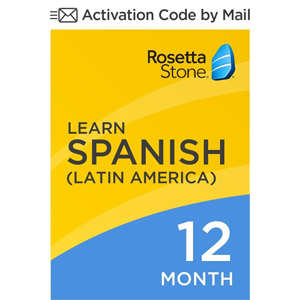 Rosetta Stone: Learn Spanish (Latin America) for 12 months