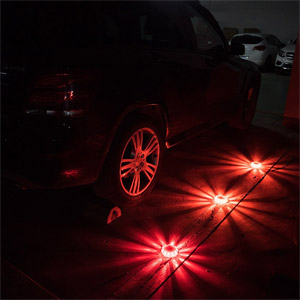 SlimK LED Road Flares