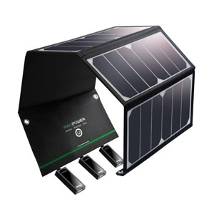 Solar Charger RAVPower 24W Solar Panel