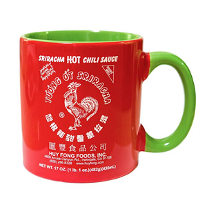 Sriracha Hot Sauce Ceramic Mug, 19 oz.