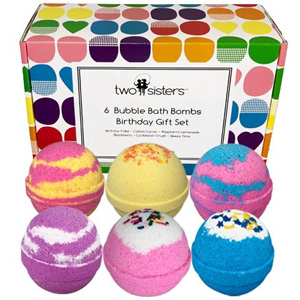 Two Sisters Bath Balms Birthday Gift Set