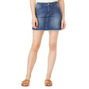 WallFlower Juniors Denim Skirt