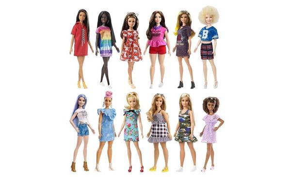 Barbie Fashionistas 2018