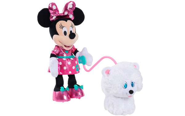 Disney Junior Minnie's Walk and Play Puppy