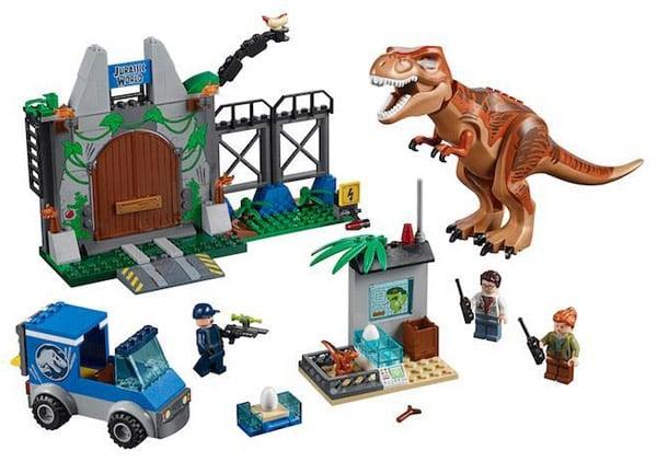 LEGO Jurassic World: Fallen Kingdom Juniors T-Rex Breakout