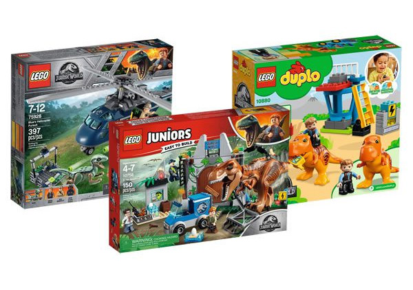 LEGO Jurassic World: Fallen Kingdom Sets