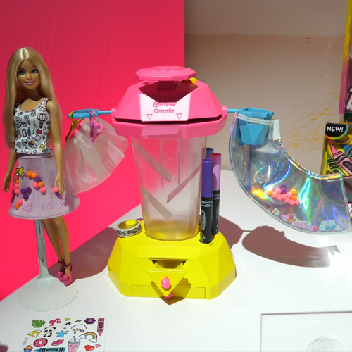 Barbie + Crayola Confetti Design Studio