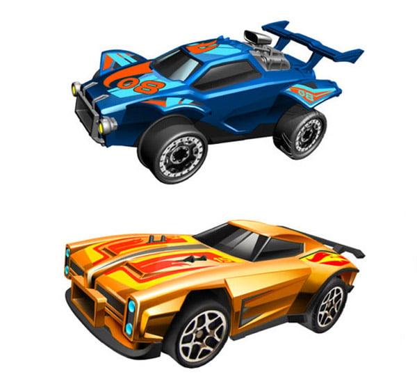 Hot Wheels Rocket League RC Rivals Set - Octane & Dominus