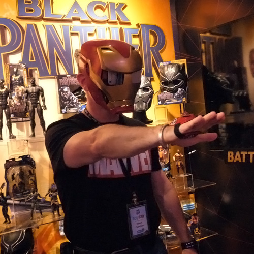 Marvel Avengers Hero Vision Iron Man AR Experience