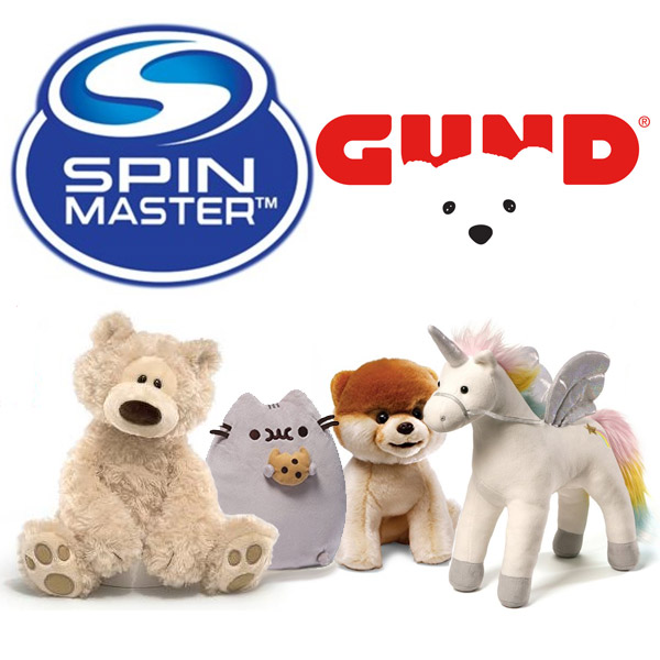 Spin Master and Gund