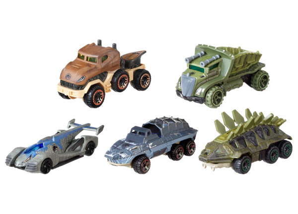 Hot Wheels Jurassic World Character Cars