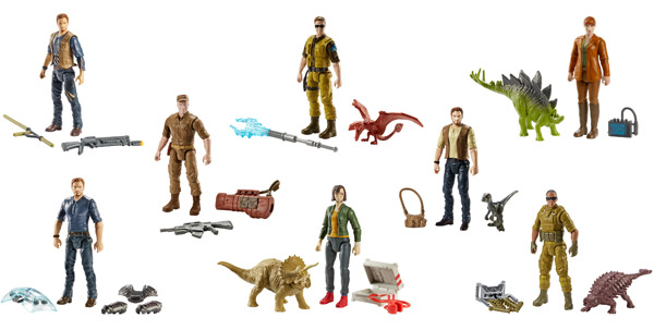 Jurassic World Basic Figure Assortment (FMM00)