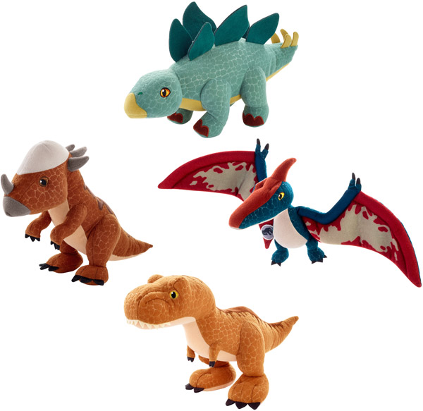 Jurassic World Basic Plush Assortment (FMM55)