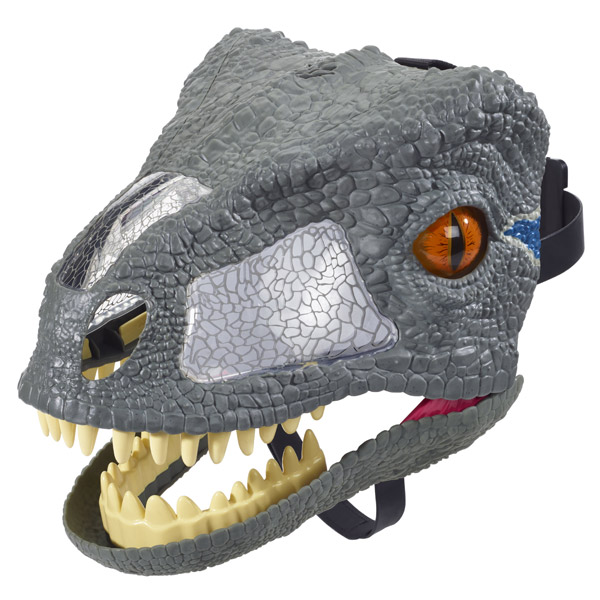 Jurassic World Chomp 'N Roar Mask Velociraptor Blue (FMB74)