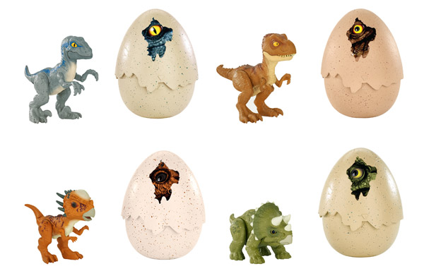 Jurassic World Hatch 'N Play Dinos Assortment (FMB91)