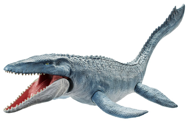 Jurassic World Real Feel Skin Mosasaurus Figure (FNG24)