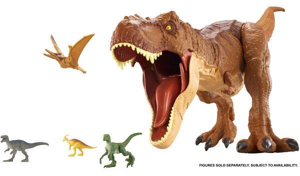 Jurassic World Super Colossal Tyrannosaurus Rex (FMM63)
