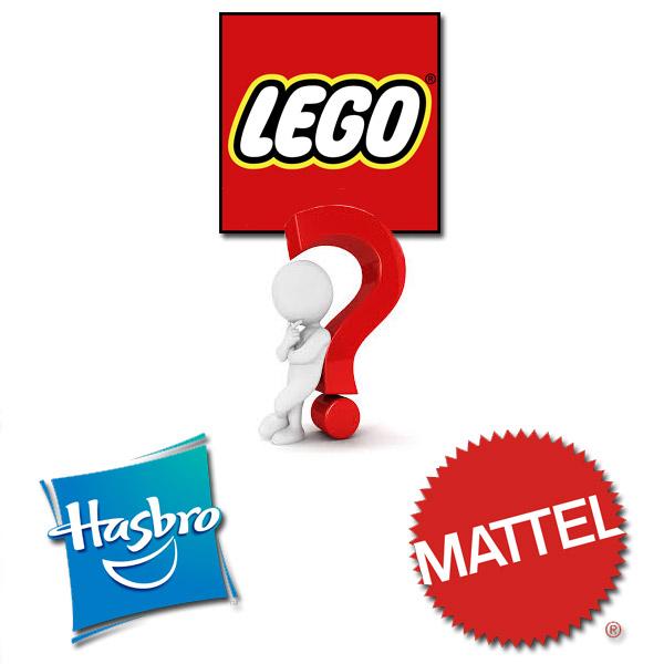 LEGO Hasbro Mattel