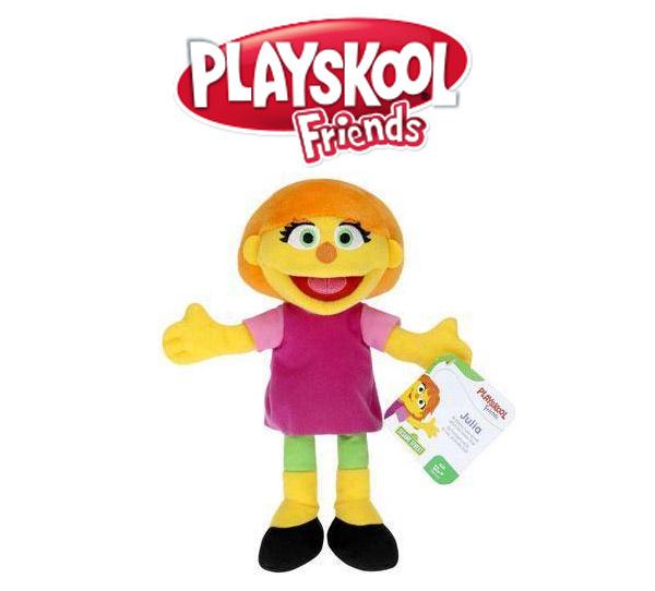Playskool Friends Sesame Street Julia Mini Plush Assortment