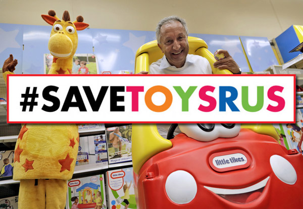 Toy Mogul Launches New Plan To Save Toys R Us