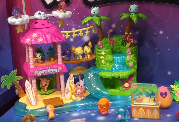 Hatchimals CollEGGtibles Illuma Island