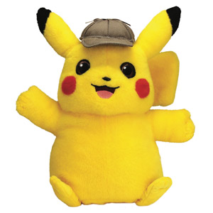 Pokémon Detective Pikachu Movie Feature Plush