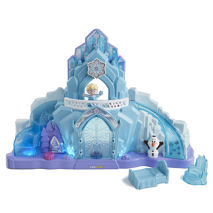 Disney Frozen Elsas Ice Palace by Little People