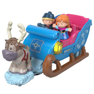 Disney Frozen Kristoffs Sleigh by Little People
